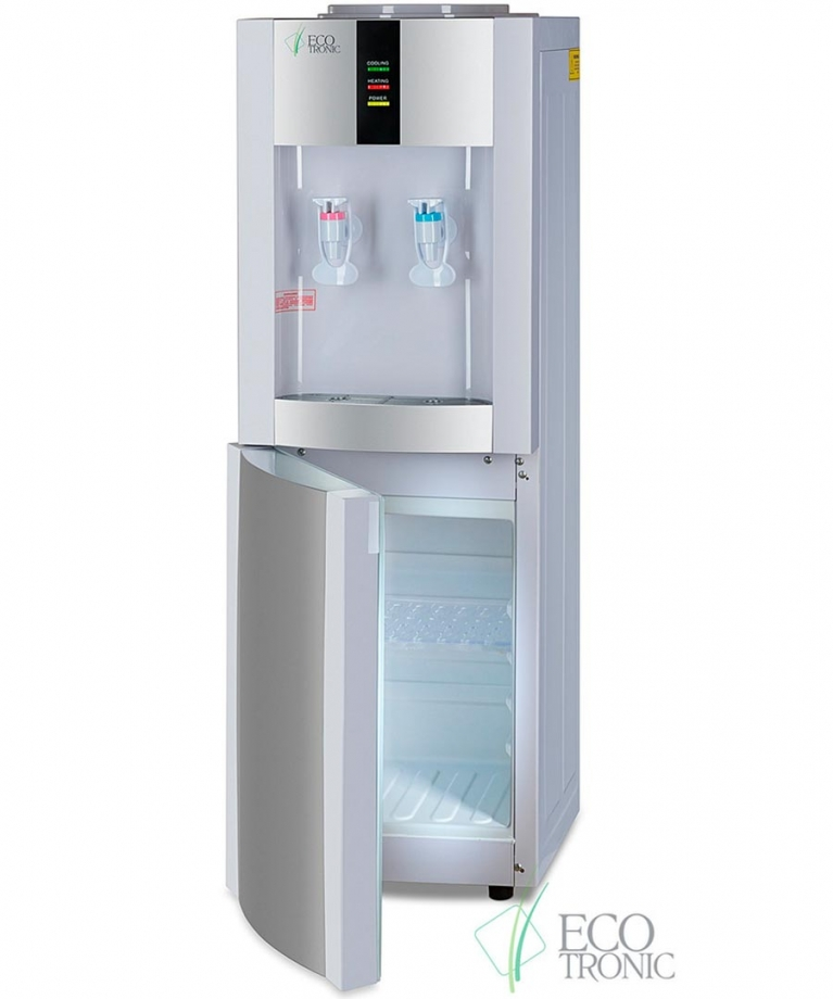 Кулер для воды Ecotronic H1-LCE White, Ecotronic, NP-0002962